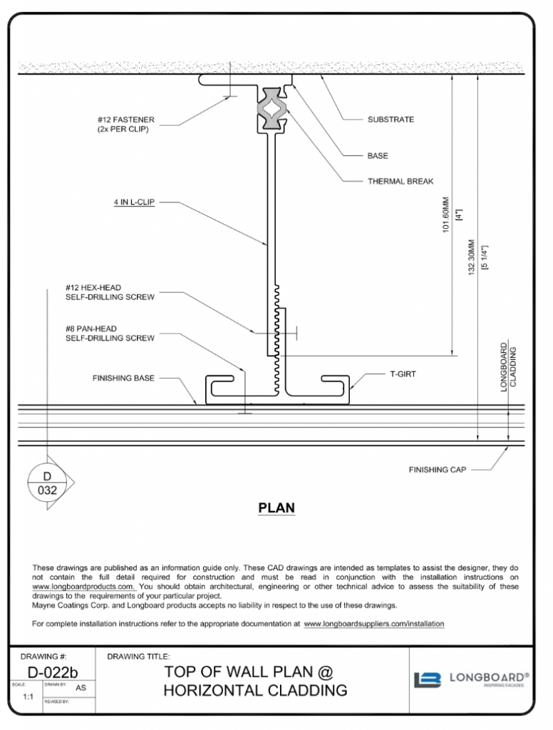 D-022b Top of Wall Plan 4 in clip