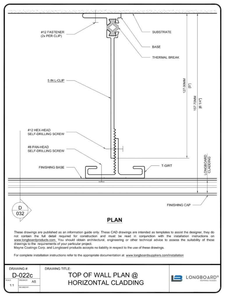 D-022c Top of Plan Horizontal 5 in clip