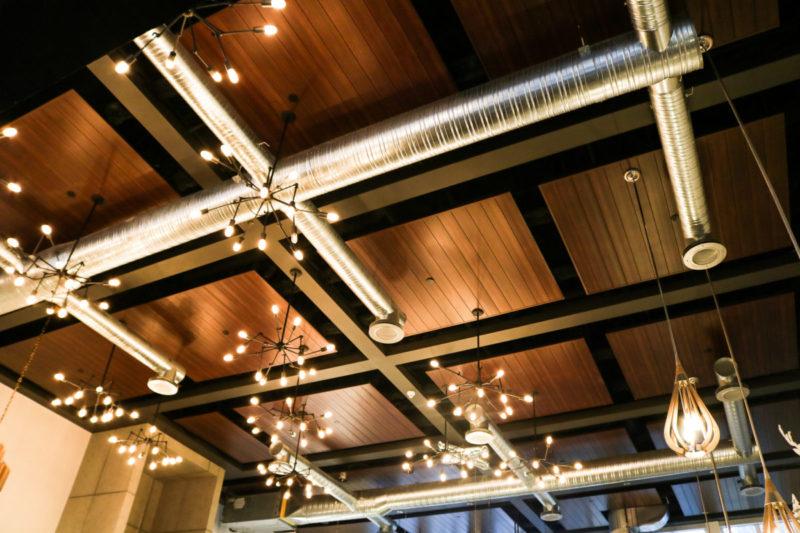 Linear Metal Ceiling