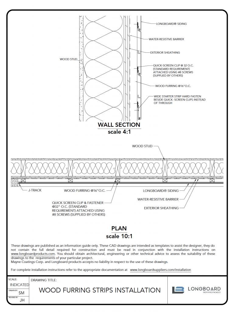 D-053 Furring Strips Installation